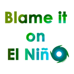 Blame it on El Nino - weather humor