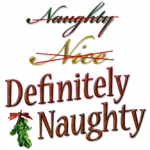 Definitely Naughty on Santa's list