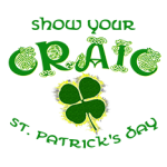 Show Your Craic - St. Patrick's Day pun