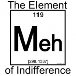 MEH Element of Indifference - chemistry