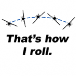 That's how I roll - Airplane illustration