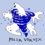Polar Vortex of Polar Bears